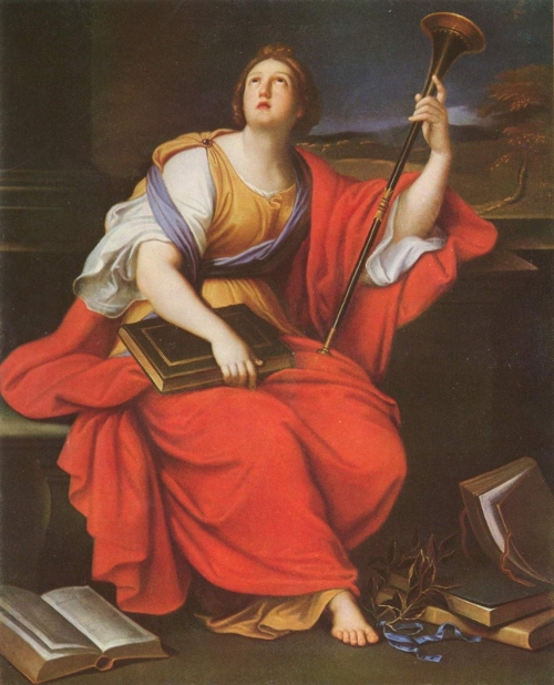 Clio by Pierre Mignard
