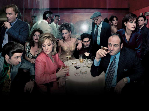 Sopranos Family Photo